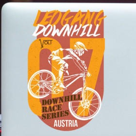 Leogang Downhill sticker