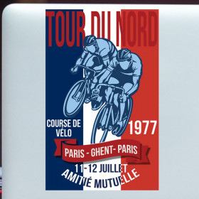 Tour du Nord sticker