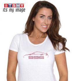 Porsche 996 glitter t-shirt