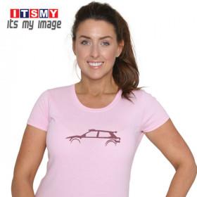 Skoda Fabia R5 glitter t-shirt