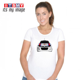 Ford Focus rally car t-shirt