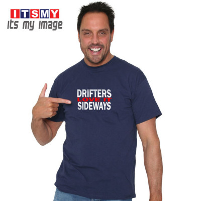 Drifters Love It Sideways - t-shirt
