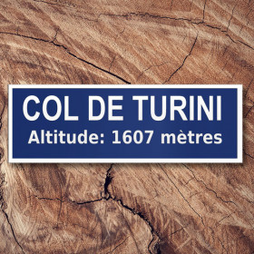 Col de Turini, Monte Carlo - famous stages sticker