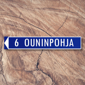 Ouninpohja, Finland - famous stages sticker
