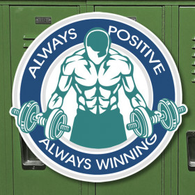 Always Winning sticker