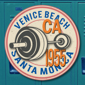 Venice Beach sticker