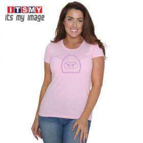 Full Face woman - helmet t-shirt