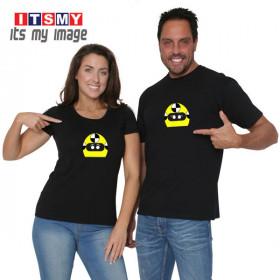 Crash Test Dummy - helmet t-shirt