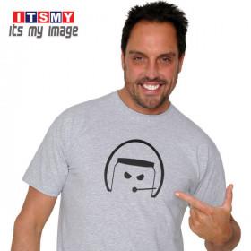 Open Face - helmet t-shirt