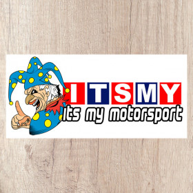 Its My Motorsport Jester long sticker