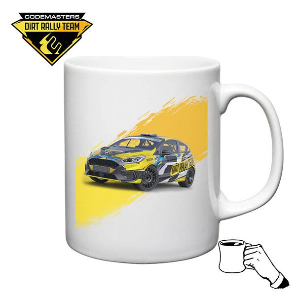 Codemasters DiRT Rally Fiesta Yellow Mug