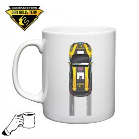 Codemasters DiRT Rally Fiesta Tyre Tracks Mug