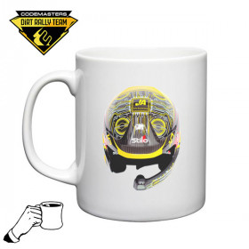 Codemasters DiRT Rally Team Jon Armstrong Helmet Mug 1