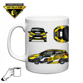 Codemasters DiRT Rally Team Fiesta Rally 4 Mug