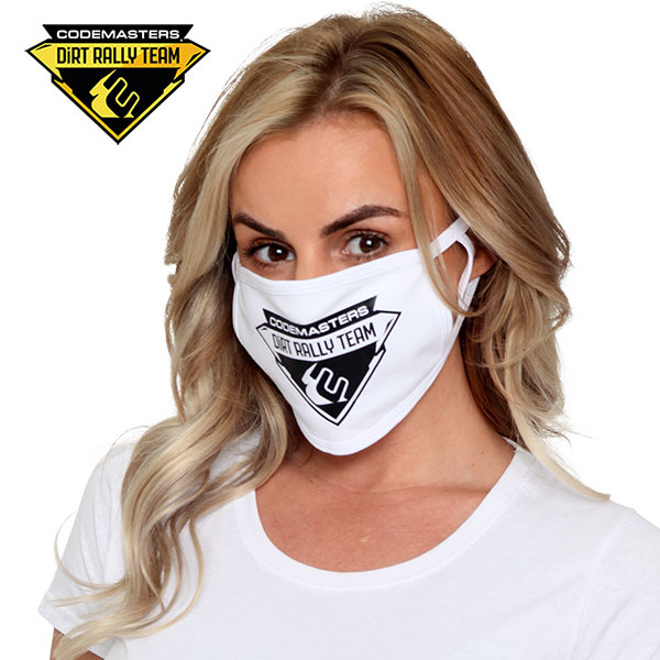Codemasters DiRT Rally Team crest mask