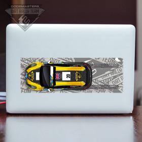 Codemasters DiRT Rally Team Fiesta Tyre Tracks sticker