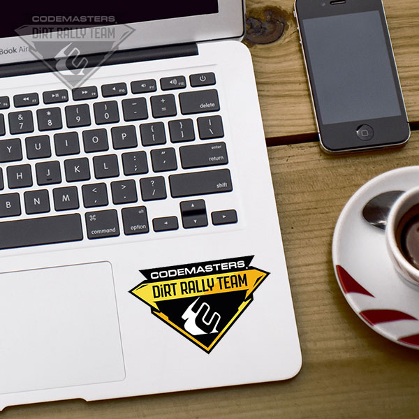 Codemasters DiRT Rally Team Crest sticker