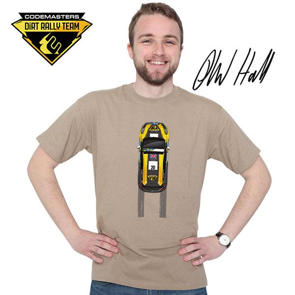Codemasters DiRT Rally Team Fiesta tracks t-shirt