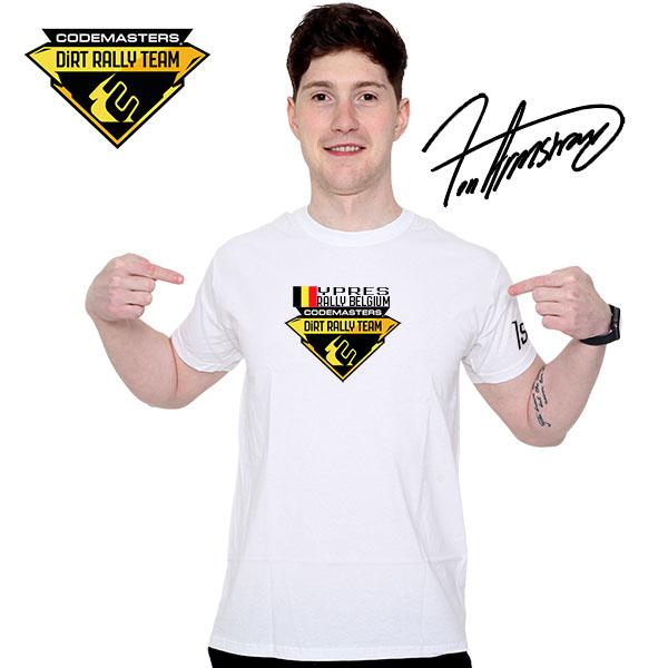 Codemasters DiRT Rally Team Belgium 1st t-shirt