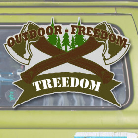 Treedom sticker