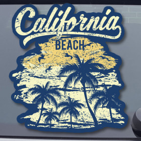 California Beach sticker