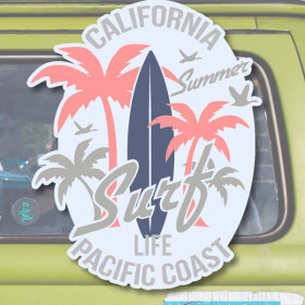 Surf Life sticker