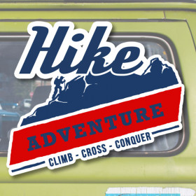 Hike Adventure sticker