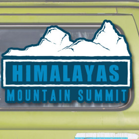 Himalayas sticker
