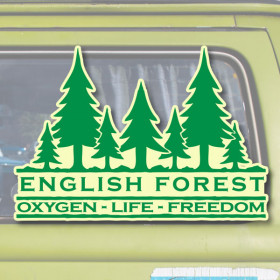 English Forest sticker