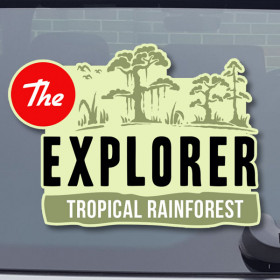 Tropical Rainforest sticker