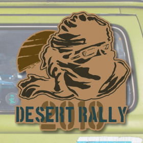 Desert Rally sticker