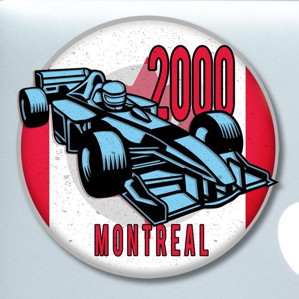 Montreal 2000 sticker