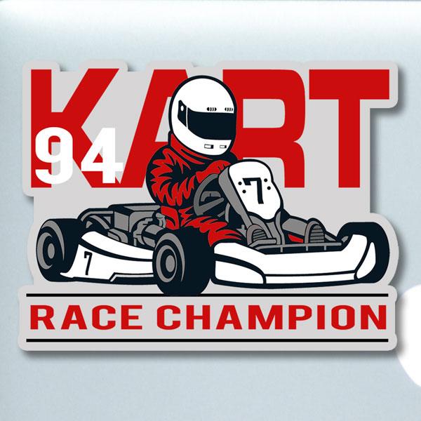 Kart Racer sticker