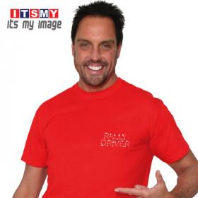 Rally Driver Tulips rally signs t-shirt