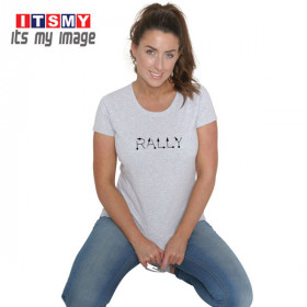 Rally Tulip text rally signs t-shirt