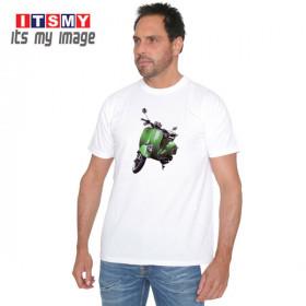 Green scooter t-shirt