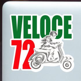 Racer Veloce sticker