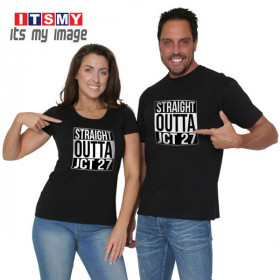 Straight outta junction 27 t-shirt