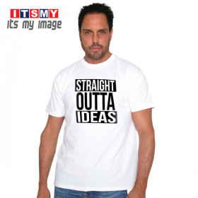 Straight outta ideas t-shirt