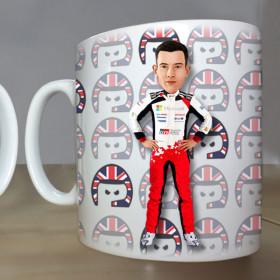 WRC drivers mugs